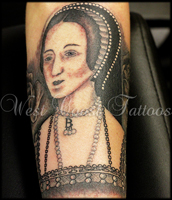 Anne Boleyn Tattoo